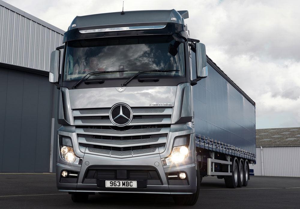 Экономичный Mercedes Actros