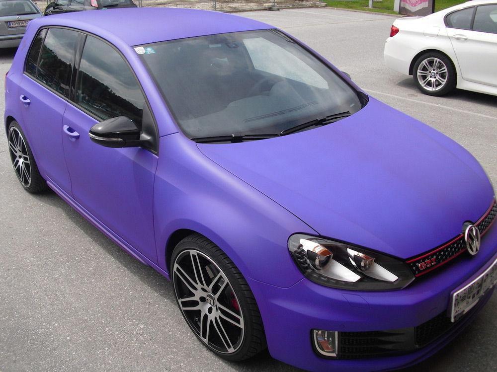 Автомобиль покрытый резиновой краской