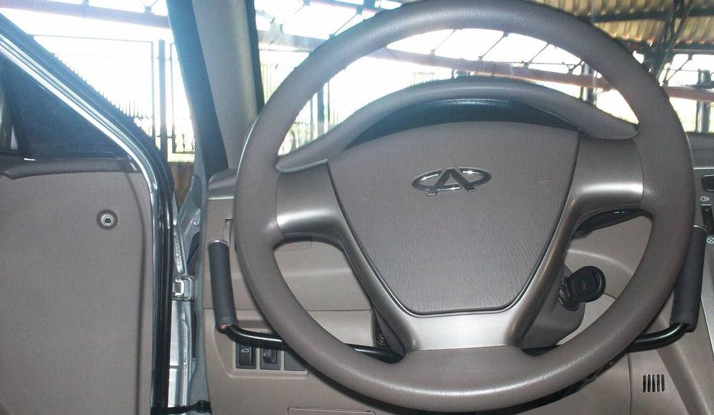 Авто, оборудованное под ручное управление