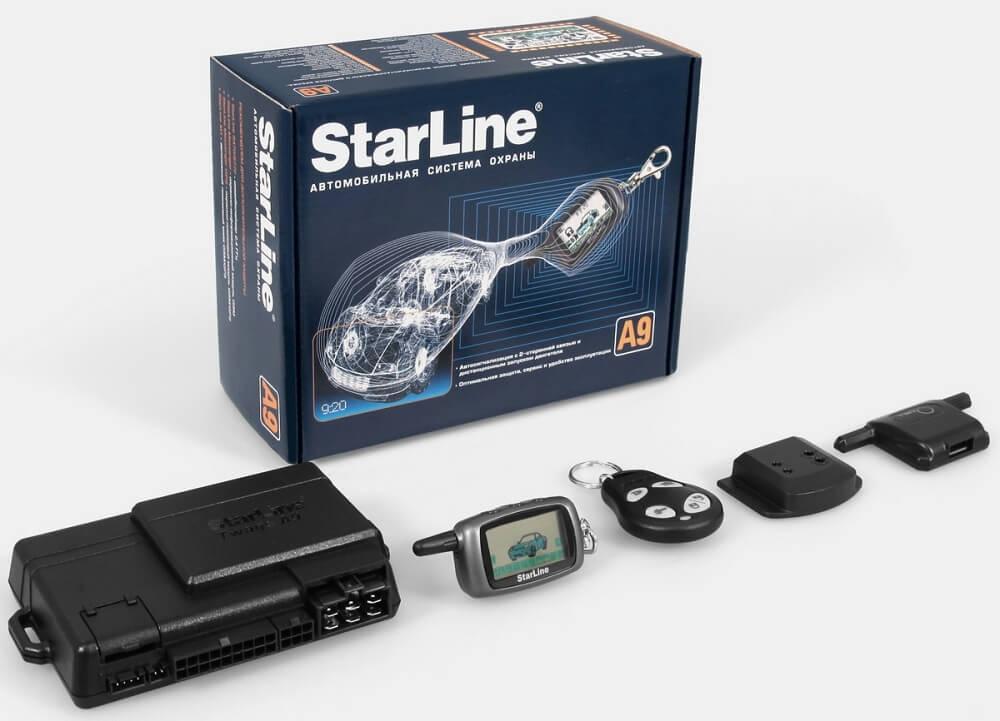 Автосигнализация Starline a9