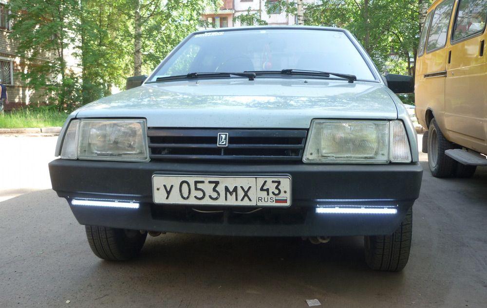 ДХО на ВАЗ 2109