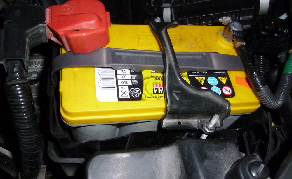 Автомобиль с гелевым аккумулятором