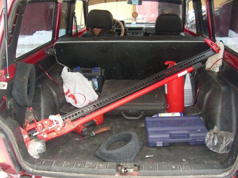 Хайджек в багажнике