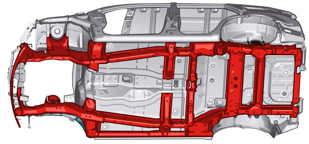 Рамная конструкция кузова
