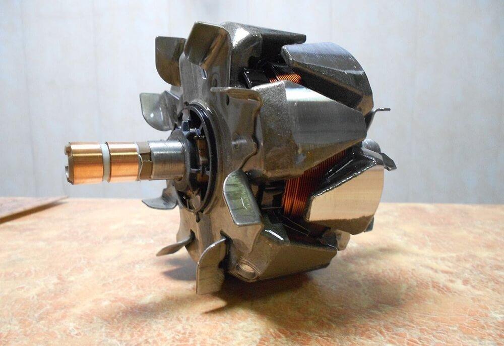 Ротор автомобильного генератора