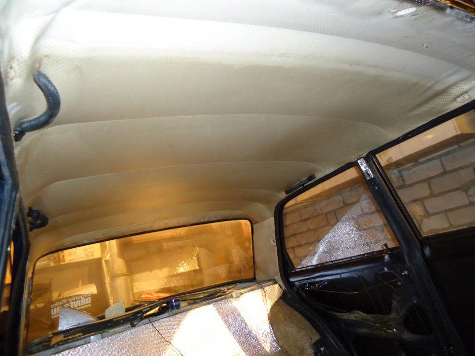 Старый потолок в авто