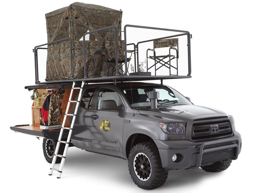 Оборудование авто для охоты и рыбалки