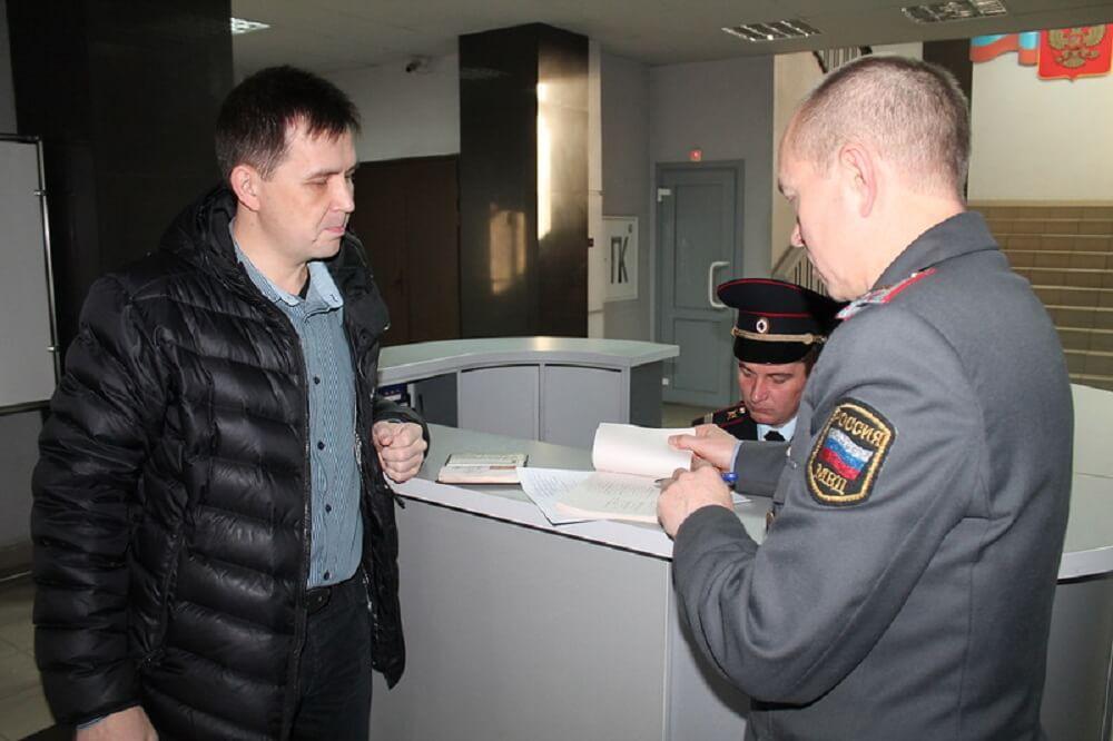 Заявление о подделке в полицию