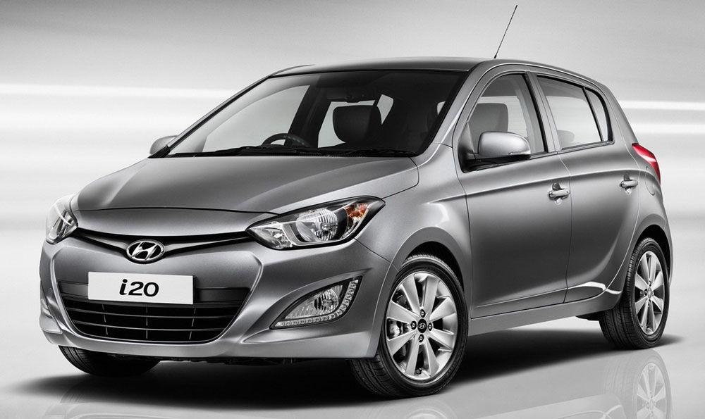 Современный Hyundai i20