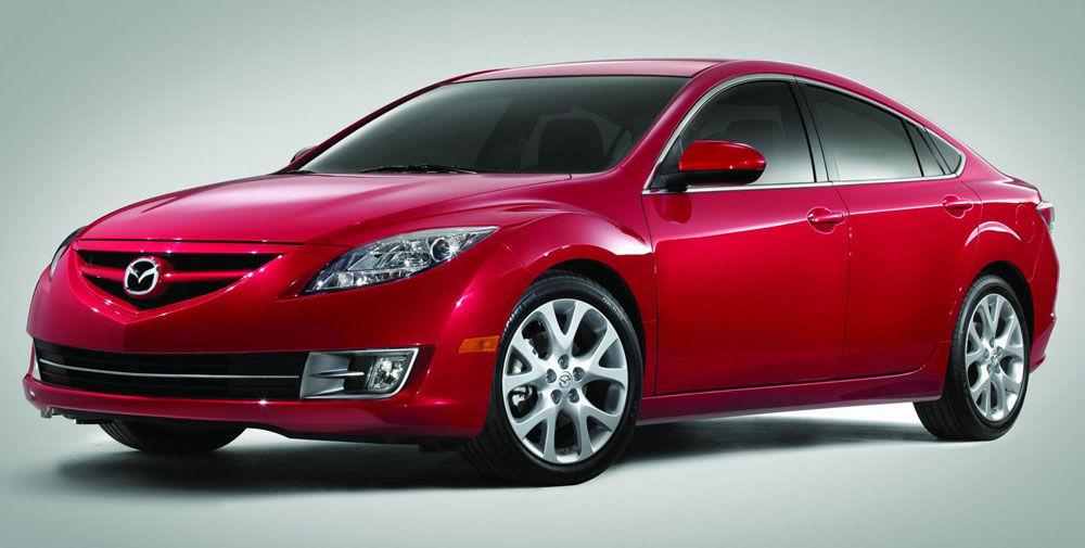 Современный Mazda 6