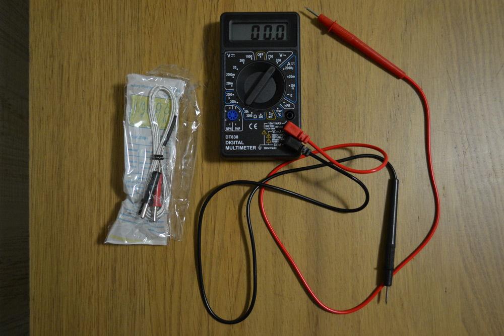 МультиметрDT-838