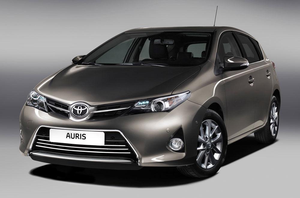 Симпатичный Toyota Auris