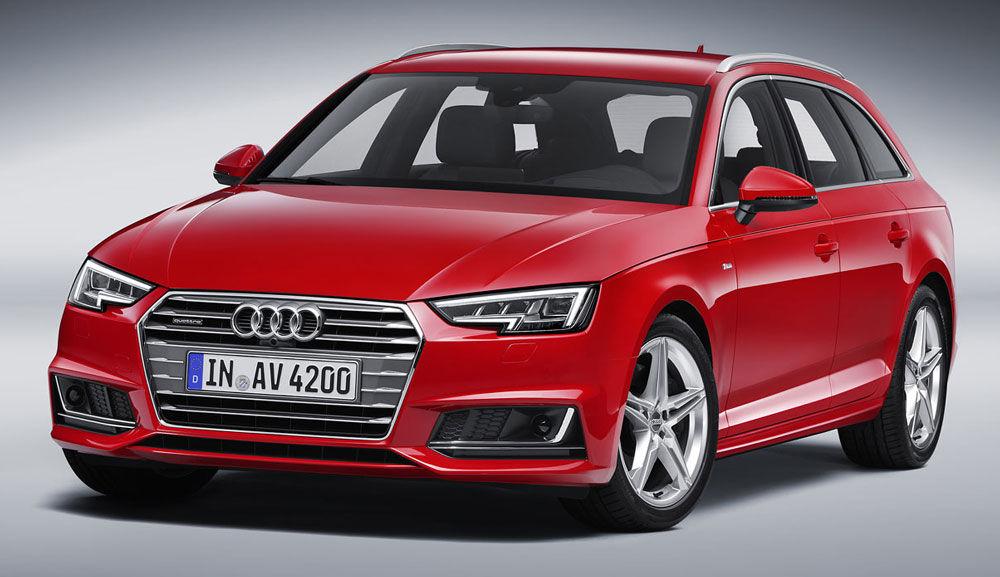 Презентабельный Audi A4
