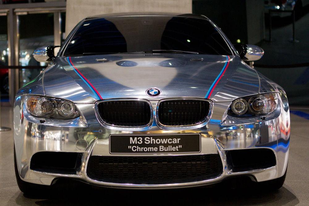 BMW M3 с серебристым кузовом