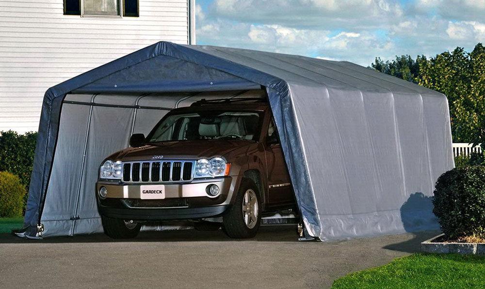 Каркасный переносной гараж