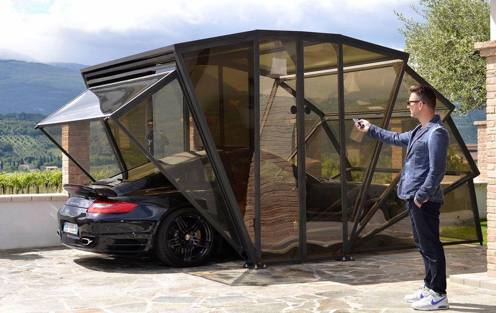 Переносной гараж для авто