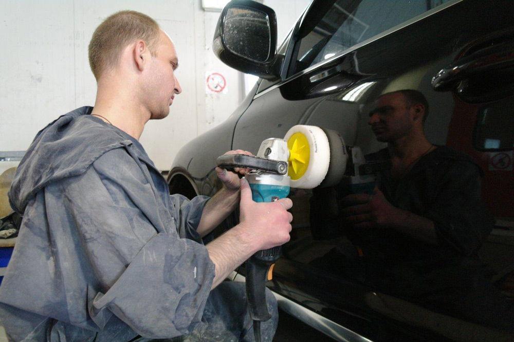 Профессиональная полировка кузова автомобиля своими руками