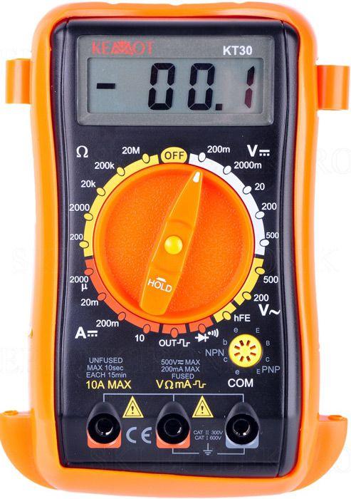 МультиметрKemot KT30
