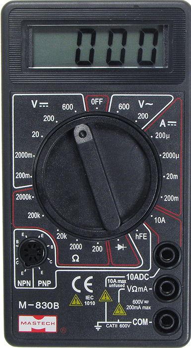 МультиметрMASTECH M830B