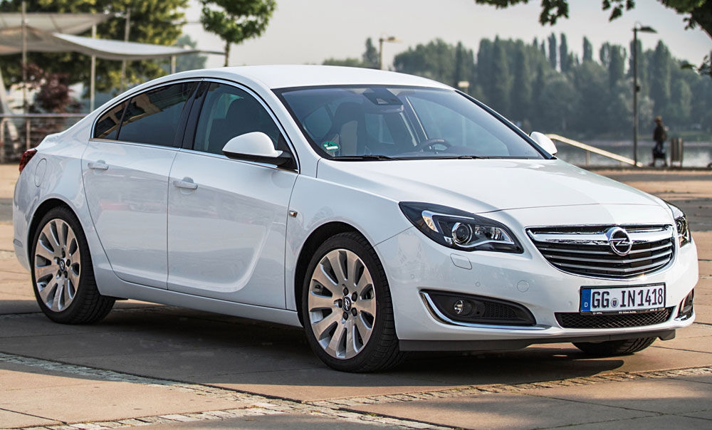 Изысканный Opel Insignia