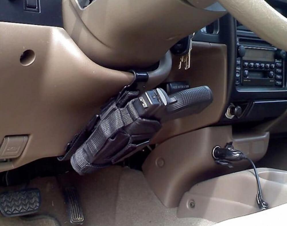 Перевозка оружия в автомобиле