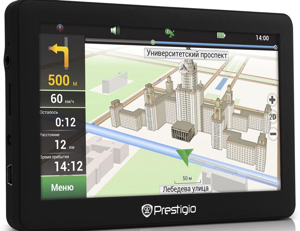 Обзор Prestigio Geovision 5056