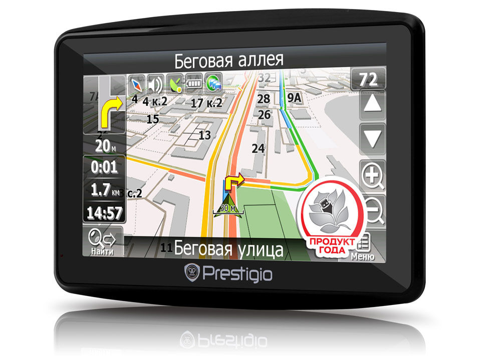 Навигатор Prestigio GeoVision 4900