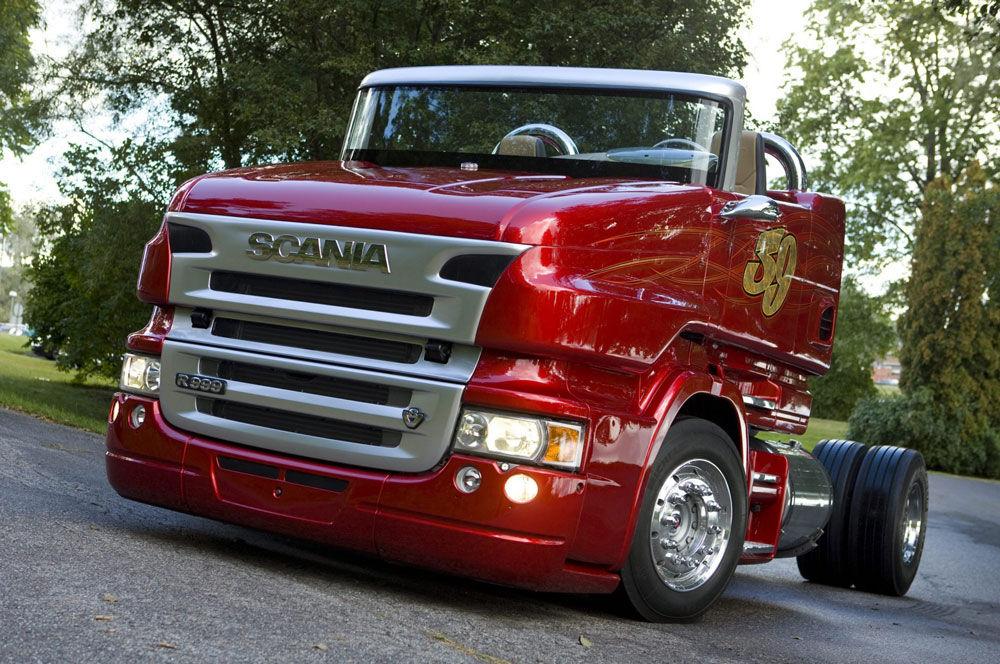 Презентация Scania-R999-V8