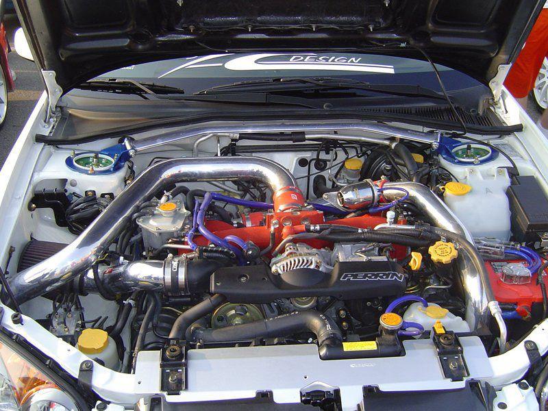 Турбированный двигатель в авто