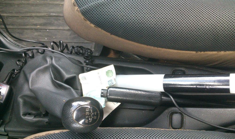 Взятка в автомобиле ГИБДД