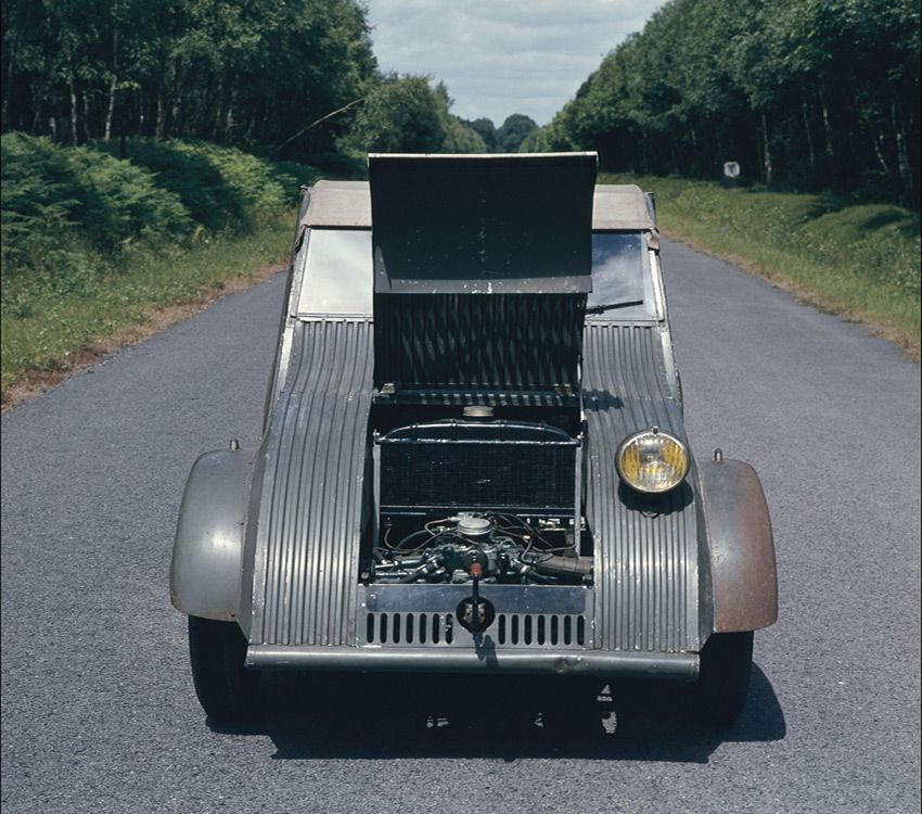 Двигатель Citroen 2CV
