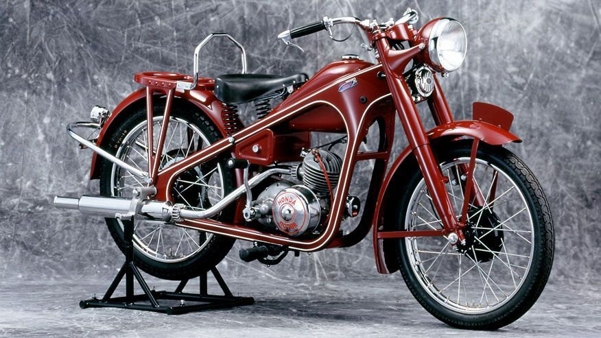 Мотоцикл Honda Dream Type D