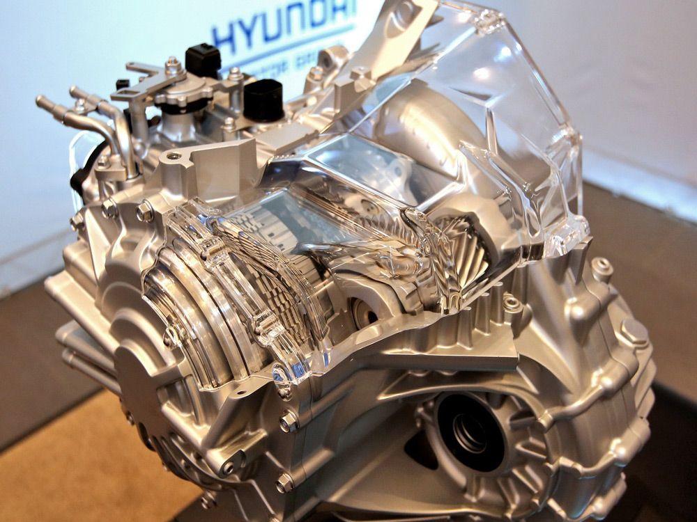 Двигатель компании Hyundai