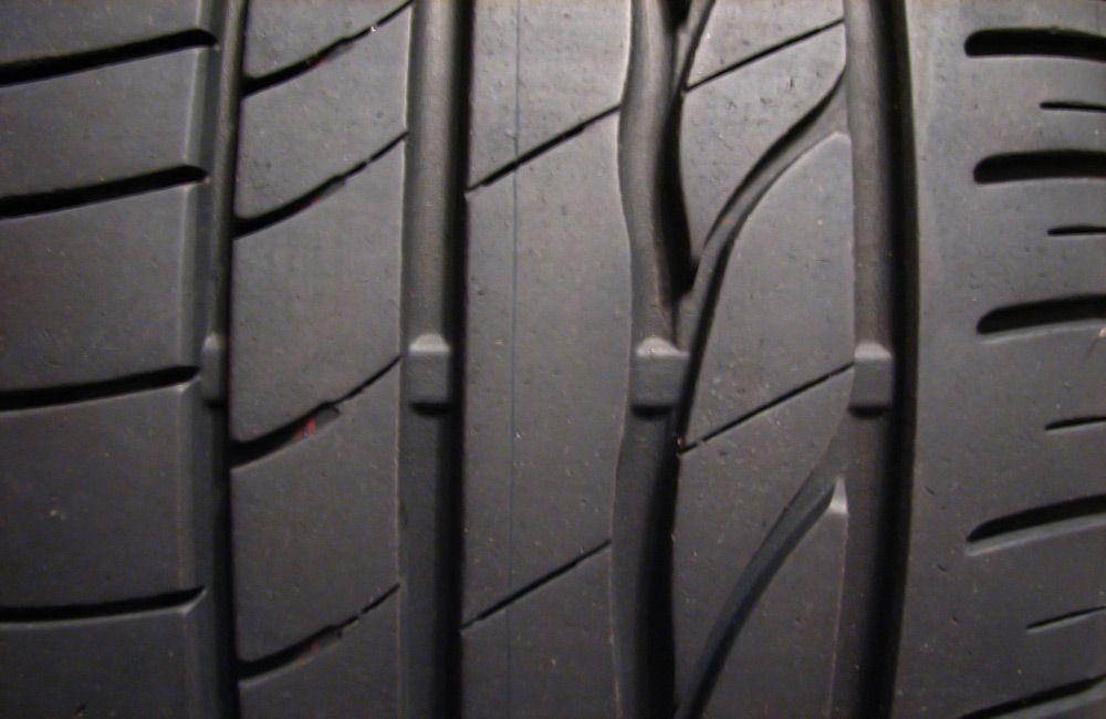Объёмный индикатор износа шин