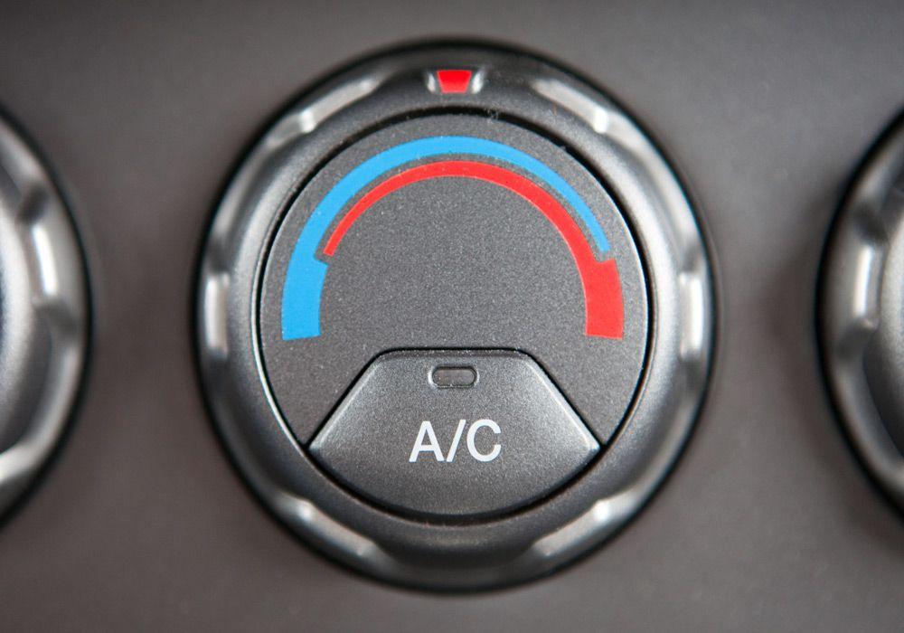 Кнопка управления компрессором