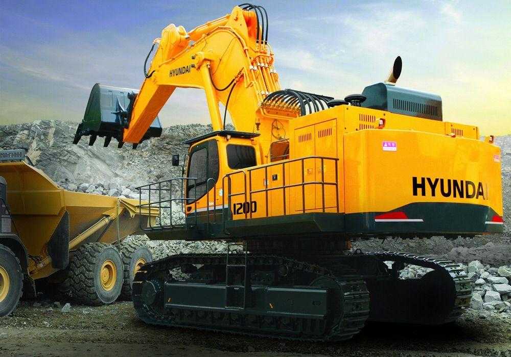 Строительная техника Hyundai Construcnion