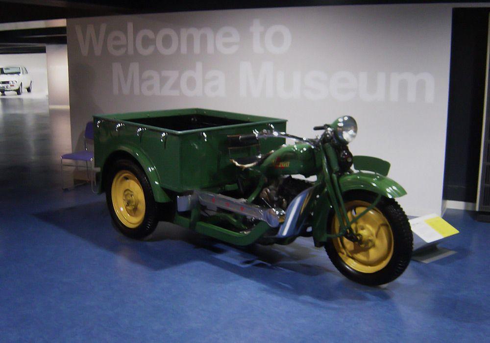 Трёхколёсный мотоцикл Mazda