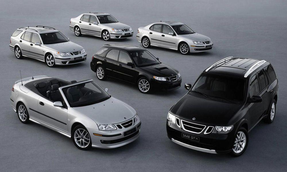 Модельный ряд Saab