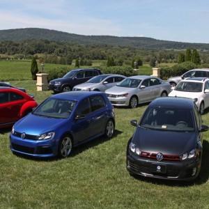 Модельный ряд компании Volkswagen