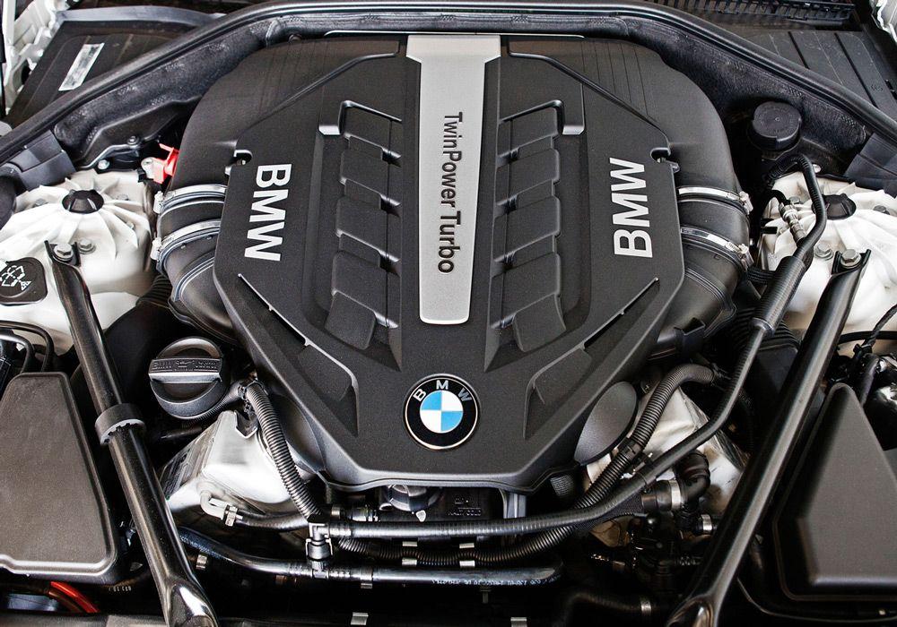 Двигатель у немецкого автомобиля