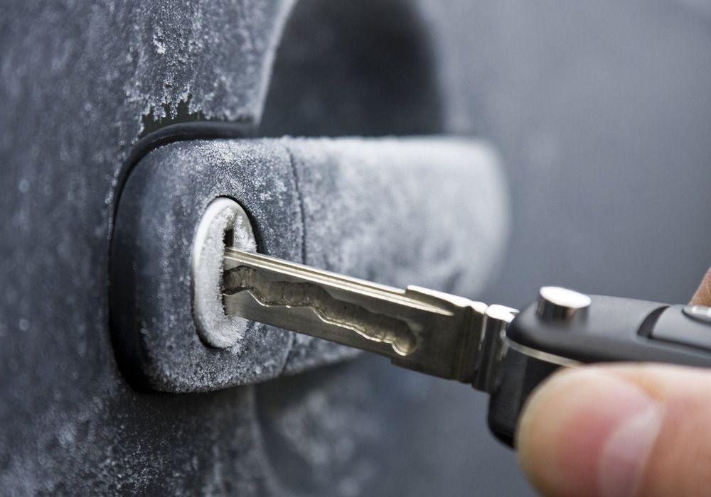 Нагретый ключ
