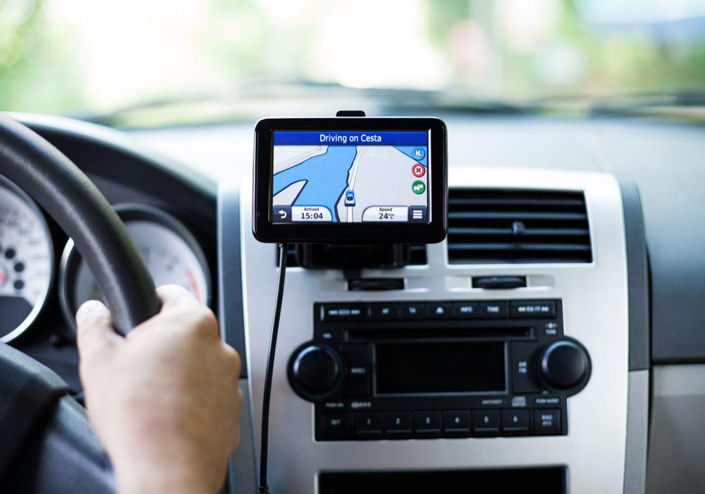 Навигатор в машине