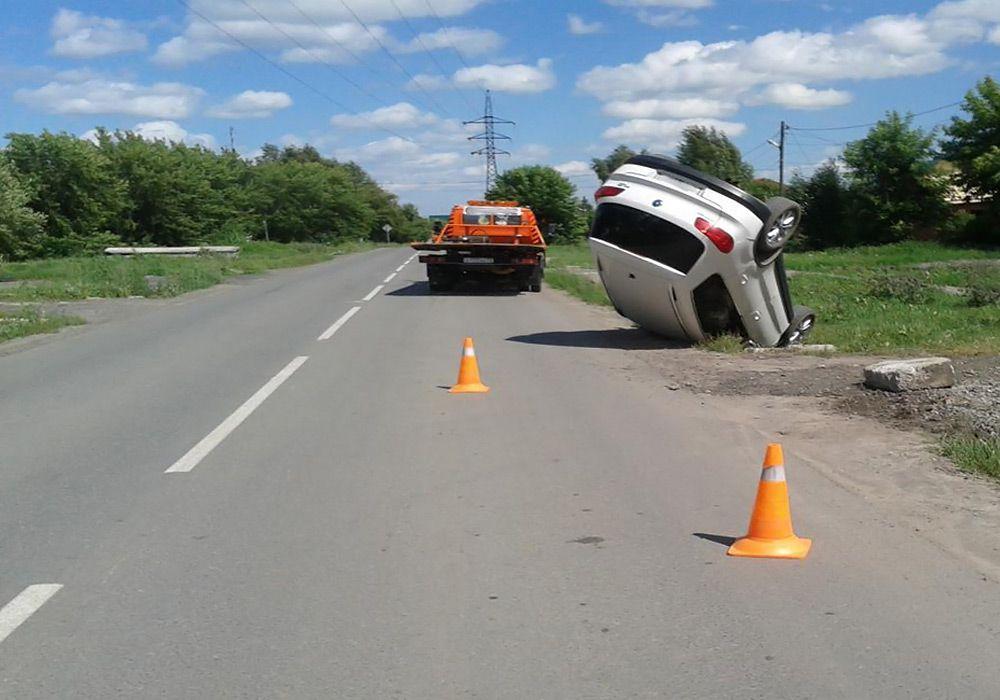 Опрокидывание автомобиля