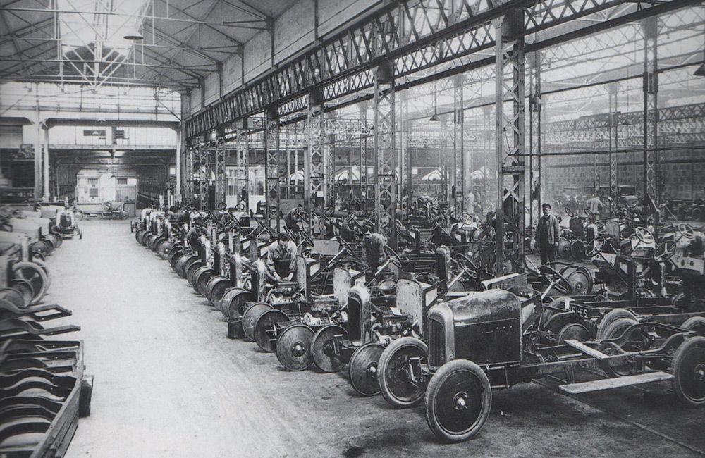 Производство автомобилей Citroen