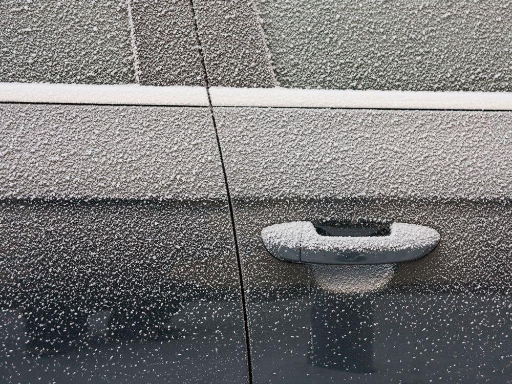 Замёрзшие двери
