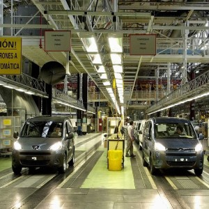 Производство французских автомобилей