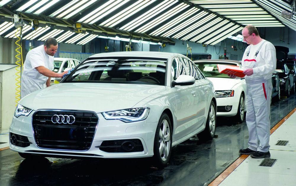 Производство автомобилей в Германии