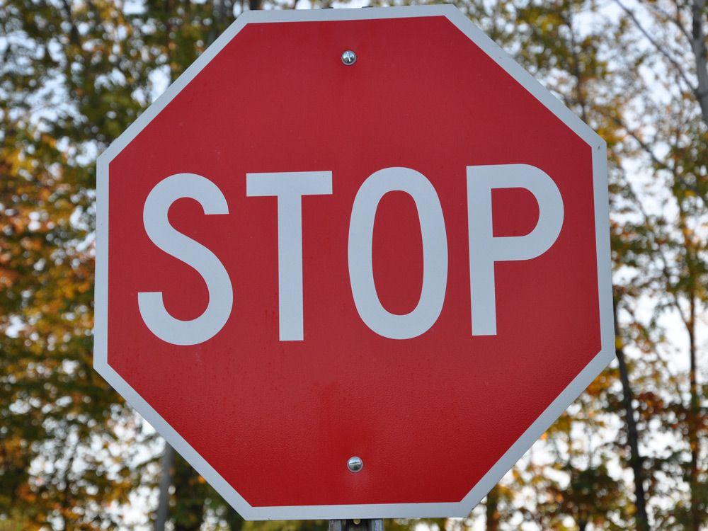 """Запрещающий знак """"Стоп"""""""