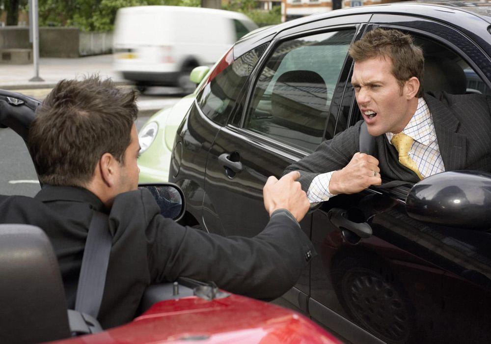Агрессивное поведение водителей