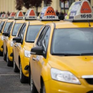 Колонна такси
